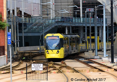 Manchester Metrolink 3114, Victoria Station, 3rd June 2017
