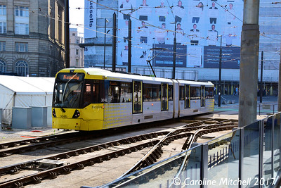 Metrolink 3048, Victoria Station, 2nd September 2017