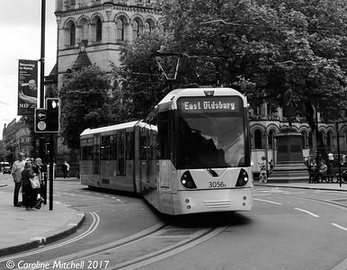 Manchester Metrolink 3056, 3rd June 2017