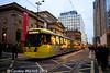 Metrolink 3099, Mosley Street, 3rd December 2016