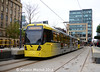 Metrolink 3105 and 3093, St Peter's Square, 3rd December 2016