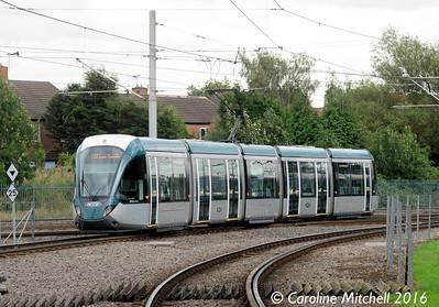Nottingham Express Transit 232, Highbury Vale, Nottingham, 9th September 2016