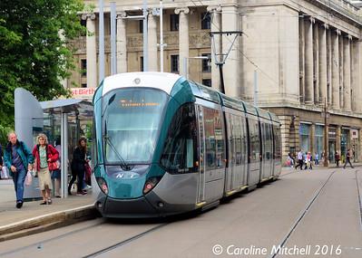 Nottingham Express Transit 230, Old Market Square, Nottingham, 9th September 2016