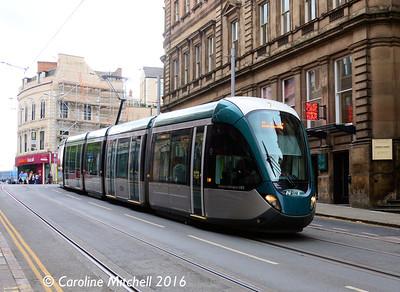 Nottingham Express Transit 231, Victoria Street, Nottingham, 9th September 2016