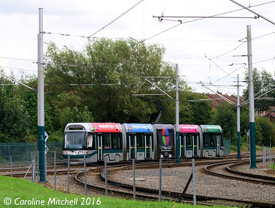 Nottingham Express Transit 202, Highbury Vale, Nottingham, 9th September 2016
