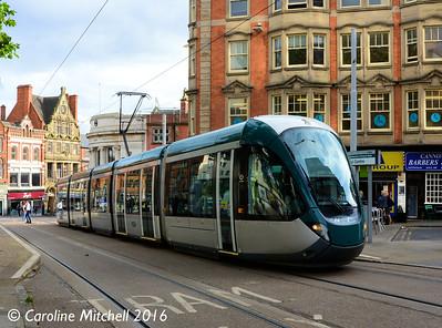 Nottingham Express Transit 236, Royal Centre, Nottingham, 9th September 2016