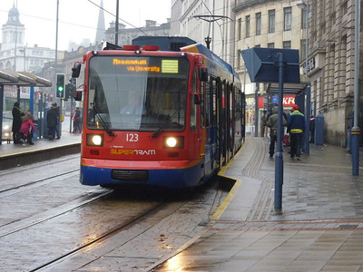 Trams - Sheffield