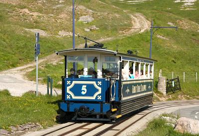 UK - Llandudno cable tramway