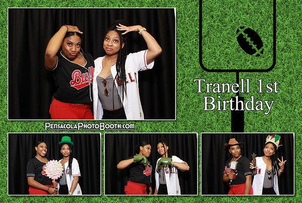 Tranell's First Birthday 7-5-2018
