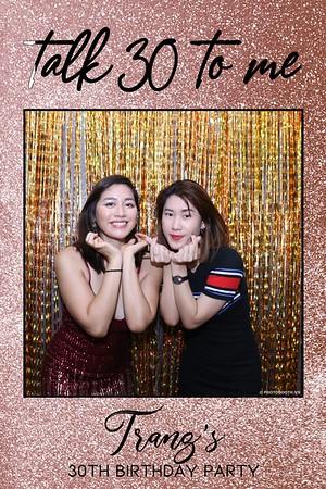 Trang's 30th Birthday Party @ AnAn Saigon | Birthday instant print photobooth in Ho Chi Minh City | Chụp hình lấy liền Tiệc Sinh Nhật | Photobooth Saigon
