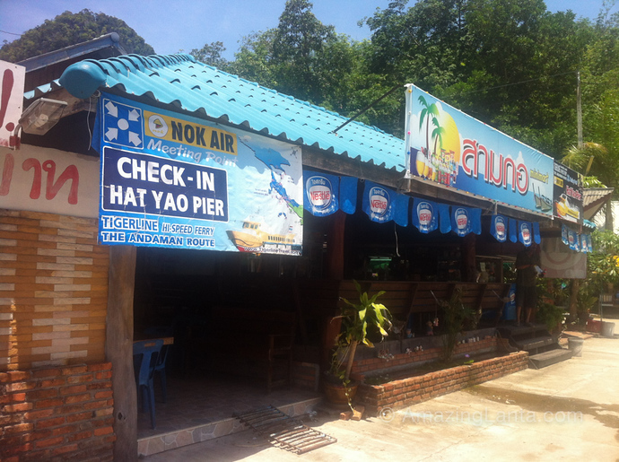 Had Yao Pier, Trang, Thailand