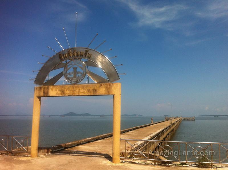 Sea pier, Trang, Thailand