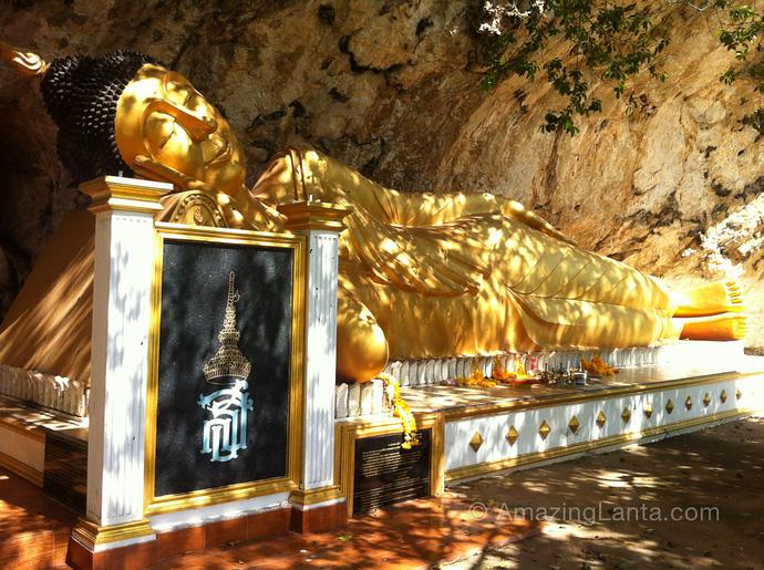 Reclining Buddha,Trang, Thailand