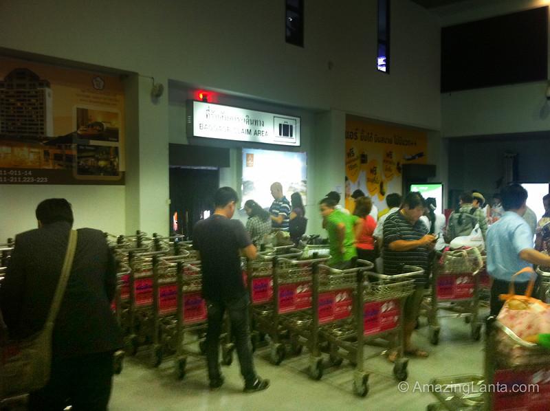 Trang Airport Baggage Reclaim, Thailand