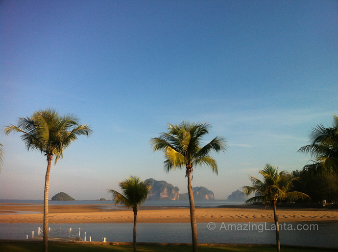 View from Anantara Si Kao resort, Changlang Beach, Trang, Thailand