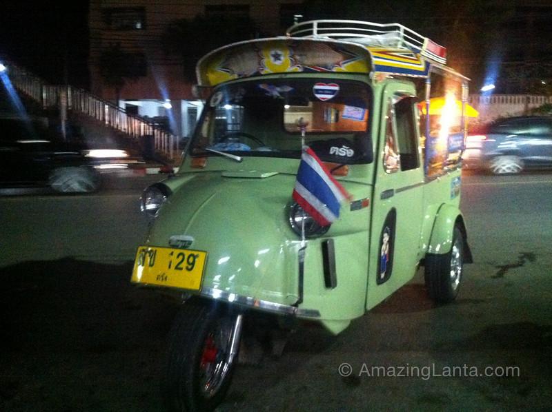 Trang tuktuk, Thailand