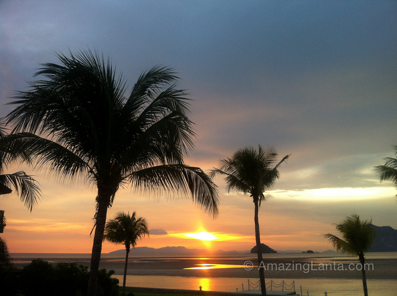 Sikao Beach Sunset, Trang, Thailand
