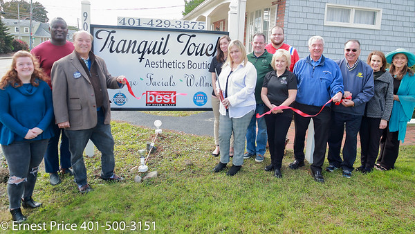 EGCC Ribbon Cutting at Tranquil Touch Aesthetics
