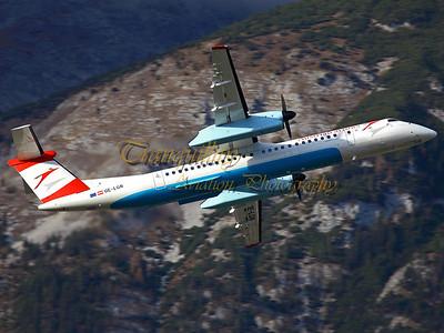 Civil Aviation Photography - Innsbruck, Austria
