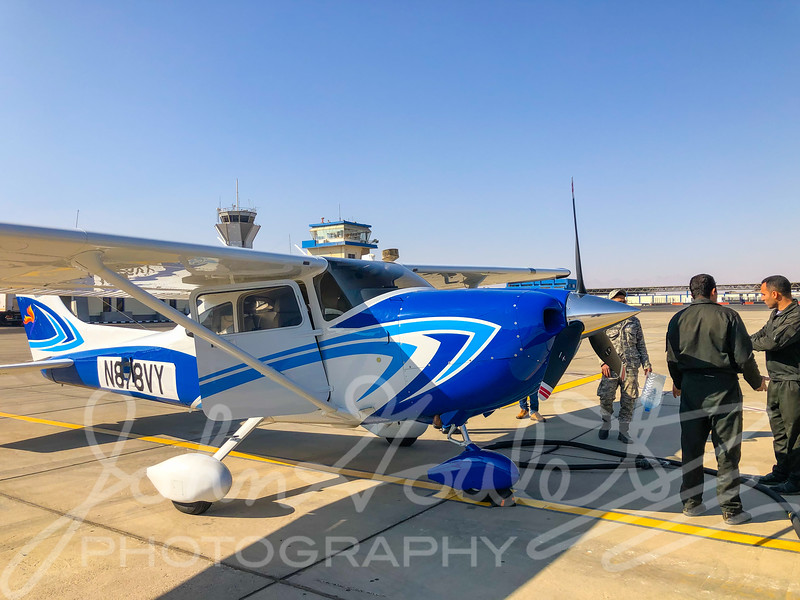 Trans-Atlantic Ferry Flight from Wichita to India on a C182T