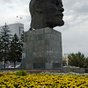 First stop, the Giant Head of Lenin