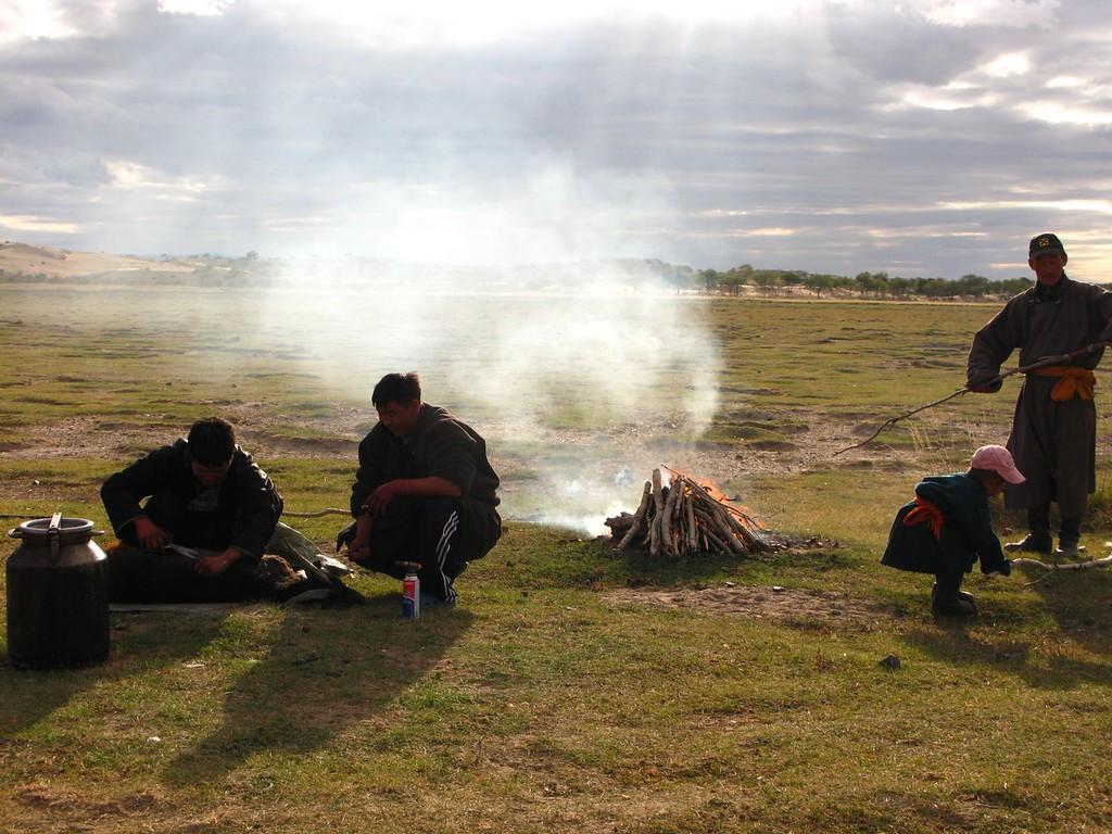 camping gobi desert