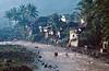 Village sur la Trans-Sumatra dans les environs de Tebingtinggi. Ile de Sumatra/Indonésie