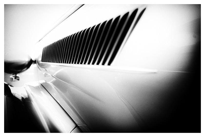 Silver Roadster