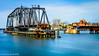 Railroad bridge in St. Joseph, Michigan