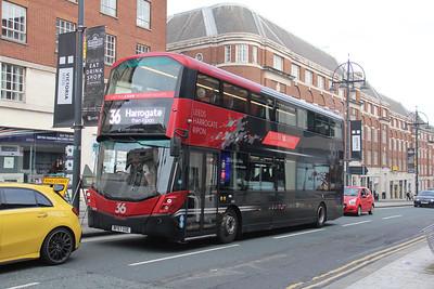 Transdev Harrogate 3641 Eastgate Leeds Nov 19