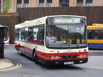 308 - YC51LYA - Harrogate (bus station) - 11.8.08
