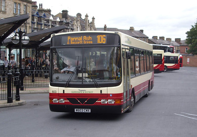 603 - W603CWX - Harrogate (bus station) - 11.8.08