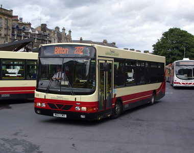 612 - W612CWX - Harrogate (bus station) - 11.8.08