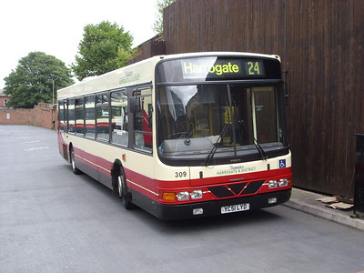 309 - YC51LYD - Harrogate (bus station) - 11.8.08