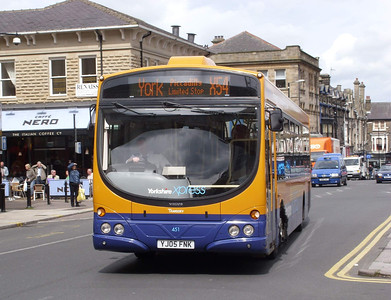 451 - YJ05FNK - Harrogate (railway station) - 11.8.08