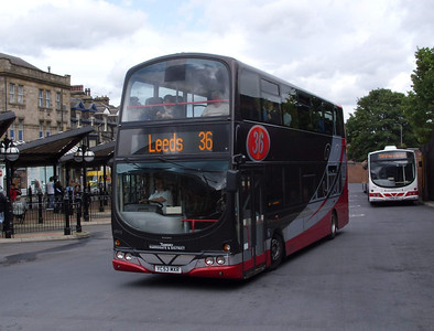 3605 - YC53MXR - Harrogate (bus station) - 11.8.08