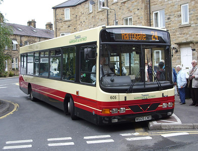 605 - W605CWX - Pateley Bridge - 11.8.08