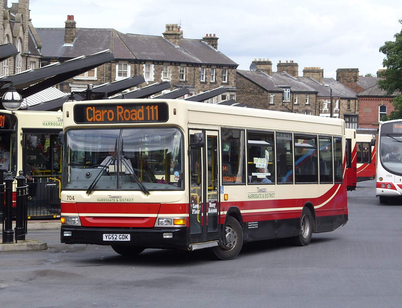 704 - YG52GDK - Harrogate (bus station) - 11.8.08
