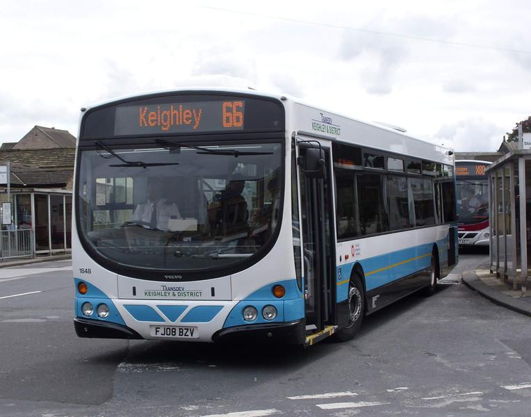 1848 - FJ08BZV - Skipton (bus station) - 13.8.08