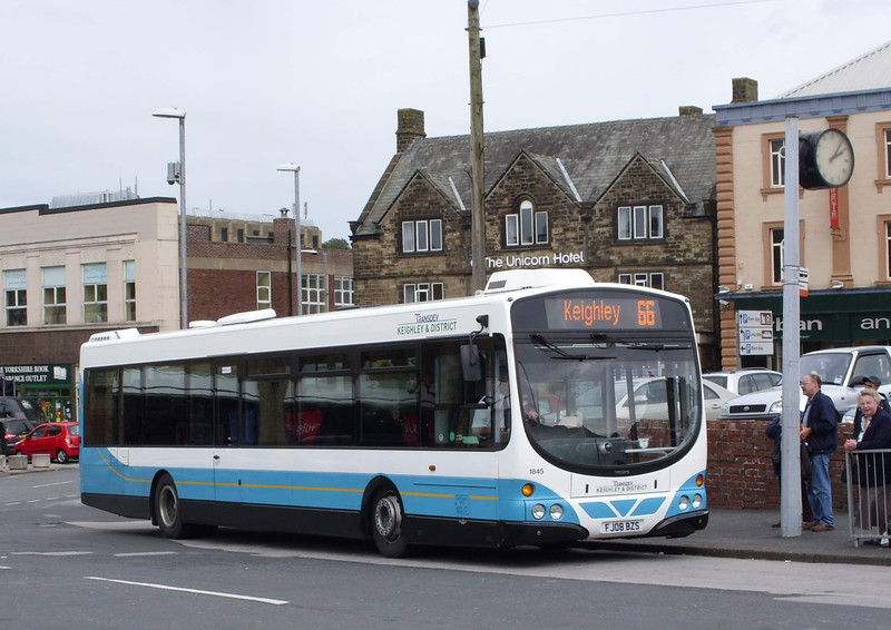 1845 - FJ08BZS - Skipton (bus station) - 13.8.08