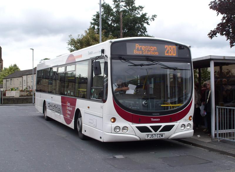 1842 - FJ57CZM - Skipton (bus station) - 13.8.08