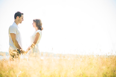 Aly and John (Greenvale Vineyards Engagement)