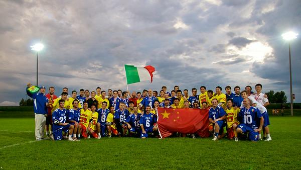 Game Two China 5 vs Italy 18 Saturday July 12