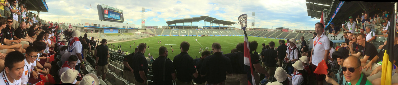 On the Field of Dreams... Denver 2014