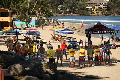 Lifeguard Training - Sayulita, Nayarit, Mexico