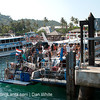 Passenger ferry from Krabi to Koh Phi Phi. Thailand.
