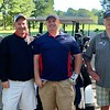 From left, Bill Flanagan Jr., Bill Flanagan Sr., and Mike Flanagan, all of Dracut, and Roger Breakey of Nashua
