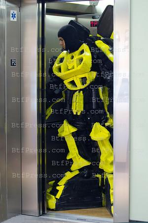 Transformer In An Elevator