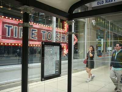 Chicago CTA Bus Shelter