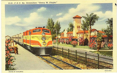 Florida East Coast streamliner 'Henry Flagler' would be right at home on 110 mph track, for all of the talk about HrSR, many American's don't know we had it and threw it away.